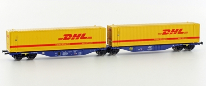 Hobbytrain H70508, TT, Container wagon Sggmrss 90' »DHL«, ITL, Ep.6