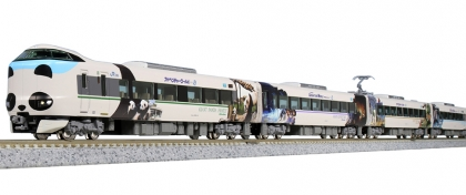 Kato K101506, N, Electric multiple unit Series 287, Panda Kuroshio »Smile Adventure Train«, JR West, 6 piece set