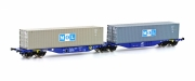 Hobbytrain H70501, TT, Container wagon Sggmrss 90' »MOL«, ITL, Ep.6