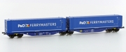 Hobbytrain H70507, TT, Container wagon Sggmrss 90' »P&O«, ITL, Ep.6