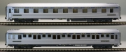 L.S.Models LS49100, H0, sleeping car type P, inox, blue stripe, CIWL/SNCB, Ep.3