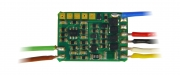 Zimo MX681, function decoder, wired version, 0,7A, 6 function outputs