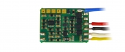 Zimo MX681R, function decoder, NEM 652 (8-pin plug), 0,7A, 6 function outputs