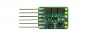 ZIMO MX671N, function decoder, NEM 651 (6-pin plug), 0,7A, 6 function outputs